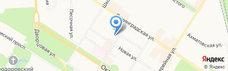 Теплоизоляция-Е на карте Санкт-Петербурга
