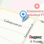 Умка на карте Санкт-Петербурга