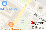 Схема проезда до компании СлухМастер в Санкт-Петербурге