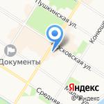 БАСКИН РОББИНС на карте Санкт-Петербурга