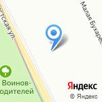 Зеркало на карте Санкт-Петербурга