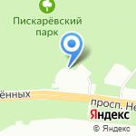 Боксёр3 на карте Санкт-Петербурга