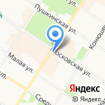 Нева-сервис на карте Санкт-Петербурга