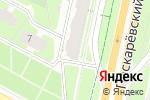 Схема проезда до компании Красота с любовью от Сулимкович в Санкт-Петербурге