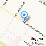 Центральная районная детская библиотека на карте Санкт-Петербурга