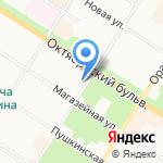 АВТОБОТ на карте Санкт-Петербурга