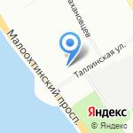 ENTER-RA на карте Санкт-Петербурга