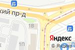 Схема проезда до компании Автомобильность в Санкт-Петербурге