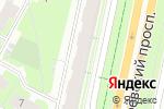 Схема проезда до компании Люменер в Санкт-Петербурге