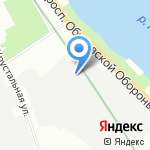 Гамма-Маркет на карте Санкт-Петербурга
