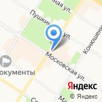 Мокафлор на карте Санкт-Петербурга