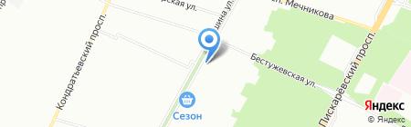 Романтика на карте Санкт-Петербурга