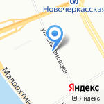 VJ на карте Санкт-Петербурга