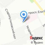 АВиК Северо-Запад на карте Санкт-Петербурга