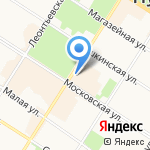 Doner Kebab на карте Санкт-Петербурга