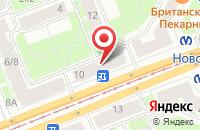 Схема проезда до компании Би в Санкт-Петербурге