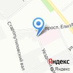 Неомикс на карте Санкт-Петербурга