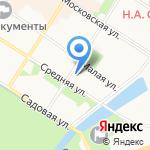 На Дне на карте Санкт-Петербурга