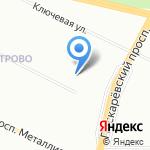 Икс-Лайн на карте Санкт-Петербурга