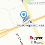 ДИАНА Д.Н. на карте Санкт-Петербурга