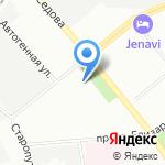 Морской учебно-тренажерный центр на карте Санкт-Петербурга