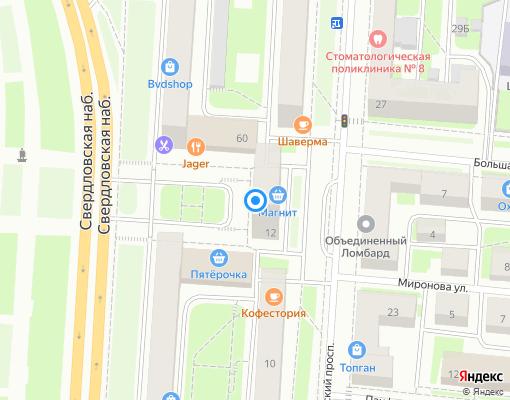 Жилищно-строительный кооператив «ЖСК-455» на карте Санкт-Петербурга