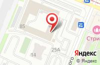 Схема проезда до компании Шанс в Санкт-Петербурге