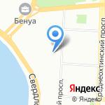 АН-Секьюрити Директ на карте Санкт-Петербурга