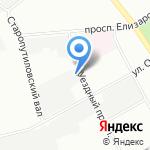 ТЕХНОПЛАНЕТ на карте Санкт-Петербурга