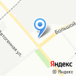 Уценочка на карте Санкт-Петербурга