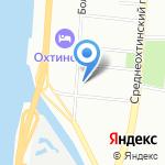 Газсервис на карте Санкт-Петербурга