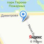 ЖСК №1077 на карте Санкт-Петербурга