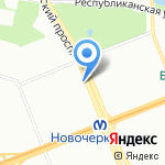 Ферма на карте Санкт-Петербурга
