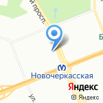 У Захара на карте Санкт-Петербурга