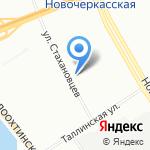 Транспортная компания на карте Санкт-Петербурга