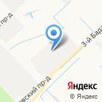 Би Лоджистик на карте Санкт-Петербурга
