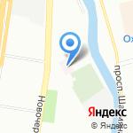 Психоневрологический диспансер №5 на карте Санкт-Петербурга