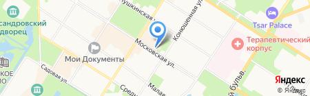 Амалия на карте Санкт-Петербурга