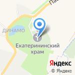 Церковь во имя Святой Великомученицы Екатерины и Рождества Пресвятой Богородицы в Графской Славянке на карте Санкт-Петербурга