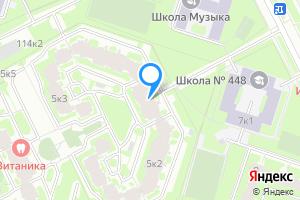 Однокомнатная квартира в Санкт-Петербурге Малая Бухарестская ул., 5к2