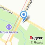 Часовня храма Сретения Господня на карте Санкт-Петербурга