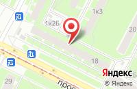 Схема проезда до компании Форум в Санкт-Петербурге