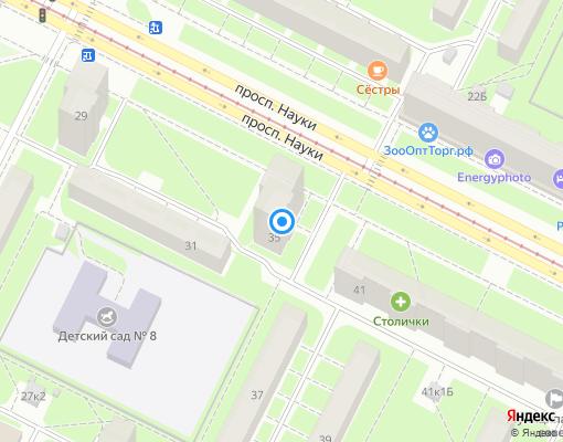Жилищно-строительный кооператив «ЖСК-255» на карте Санкт-Петербурга