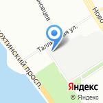 СП-Сервис на карте Санкт-Петербурга