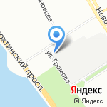 ТРУМЭН групп на карте Санкт-Петербурга