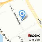 Индид-Проект на карте Санкт-Петербурга