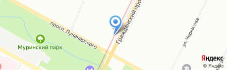 Лукошко на карте Санкт-Петербурга