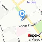 БалтСтройСервис на карте Санкт-Петербурга