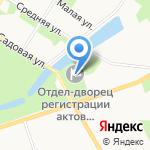 Дворец бракосочетания №3 на карте Санкт-Петербурга