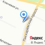Творчество на карте Санкт-Петербурга